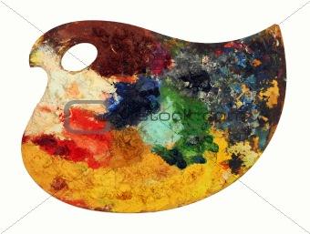 classic art color palette