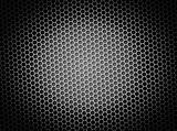 Honeycomb Background BW