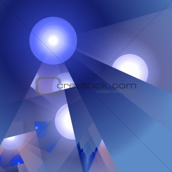 Abstract elegance background. White - blue palette.