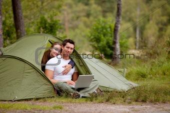 Computer Outdoor Tent