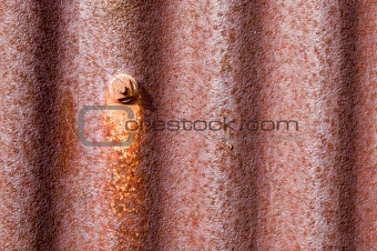 old rusty corrugated iton background