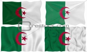 four flags of algeria