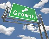 Freeway Sign - Growth