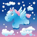 Little Pegasus in the sky