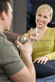 Beautiful Woman on A Romantic Date D