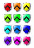 Coloured Shields