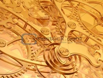 Clockwork background