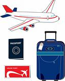 Travel & vocation-vector