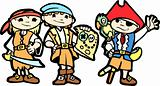 Children in Pirate Costumes