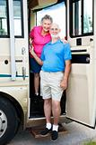 Senior Travelers in RV