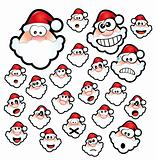 Santa Claus Expressions
