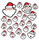 Santa Claus Expressions