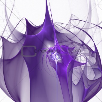 Abstract elegance background. White - purple palette.