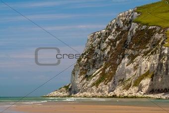 Cliffs on the North  sea