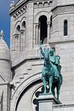 Sculpture of Sacre Coeur