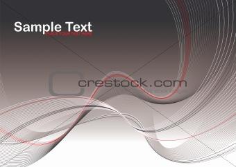 gray wave stroke