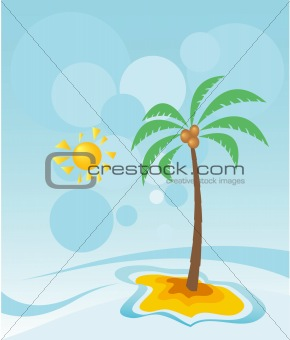 Apstrakt palm