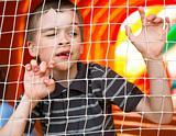 Boy in playground