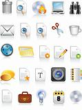 document and office icons