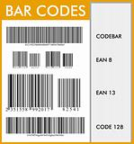 Bar codes graphic