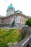 King Palace. Hungary, Budapest; Autumn