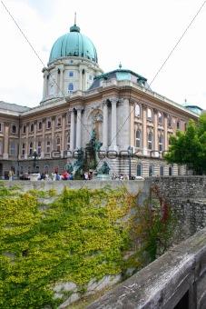 King Palace. Hungary, Budapest; Autumn