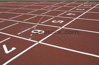 cinder track