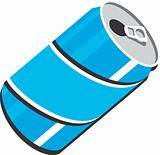 Pop soda can design clipart