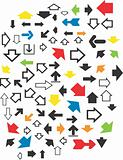 Various arrows design image
