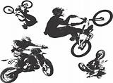 Motor cycle vector image