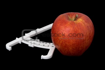 Apple and Caliper