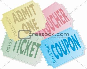 ticket pile