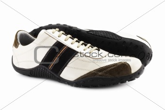 Casual Shoes (isolated on white)
