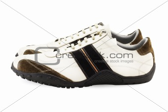 Casual Shoes on White (include clipping path)