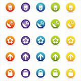 Colorful Web Icons Set 2 (Vector)