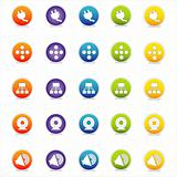 Colorful Web Icons Set 4 (Vector)