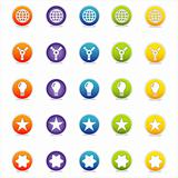 Colorful Web Icons Set 5 (Vector)