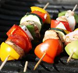 More Shishkabob Grilling 