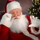 Santa Claus Waving