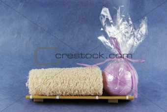Image 228735 loafah and bath bomb from crestock stock photos for Bomb hair salon