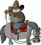 Wrongway Cowboy