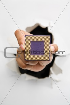 Breakthrough in microprocessor technology