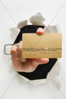 Breakthrough in credit card innovation