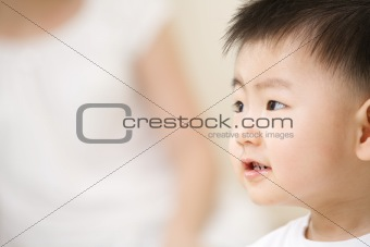 Asian toddler