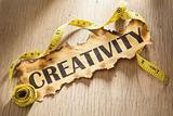 Measurement for creativity concept