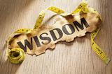 Measurement for wisdom concept