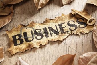 Business key concept