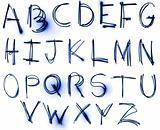 Neon Alphabet set