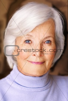 Beautiful senior woman portrait