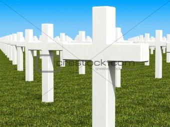 cemetery 3d